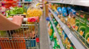 La canasta alimentaria aumentó 2,87% en un mes