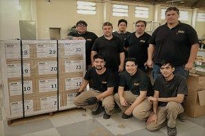 Pyme autopartista realiza su primera exportación a Uruguay