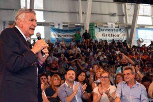 Gioja afirmó que el armado del «gran frente nacional» debe incluir a CFK