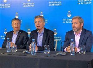 Frigerio no descartó que Lousteau acompañe a Macri en la fórmula presidencial