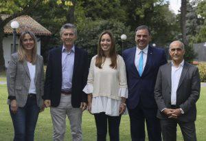 «Estamos peleando contra muchas décadas de fracaso», dijo Vidal en su arenga a los candidatos de Cambiemos