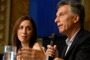 Vidal sigue los pasos de Macri: impulsará medidas de un «plan alivio» para los bonaerenses