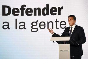 Ante la crisis económica, Massa le reclamó a Macri que convoque a los referentes opositores, incluida CFK