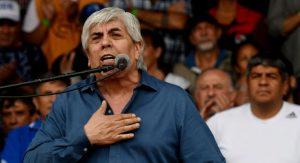 Moyano calentó la previa del paro, al redoblar la crítica contra el Gobierno de Macri