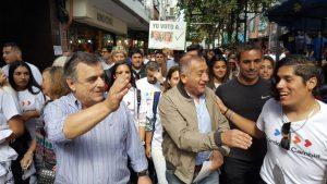 Negri habló de «un tiempo de corrupción», al referirse a los 20 años de Gobierno de UPC