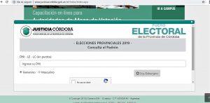 Elecciones CBA: Ya puede consultarse el padrón definitivo a través de la web