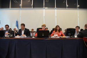 Con representantes del Ministerio de Justicia se inició la ronda de audiencias por el debate del nuevo Régimen Penal Juvenil
