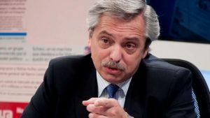 «Quien piense que quiero llegar a la presidencia para indultar a alguien es un estúpido», dijo Fernández