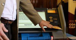 Desde la Justicia Electoral afirman que el voto electrónico se aplica «sin inconvenientes»