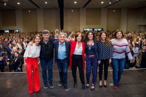 Llaryora y Vigo con agenda de género para la ciudad