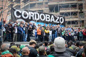 Saillen: «Acá están los que luchan. Acá está el pueblo obrero de Córdoba»