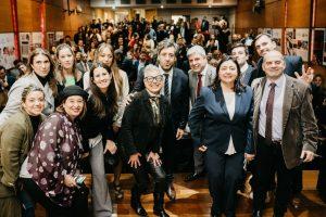 «Vamos a fortalecer la presencia institucional del Colegio», dijo Segura al presentar las propuestas de Unión Profesional