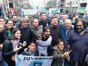 Saillén habló de «dictadura económica» al cargar contra el Gobierno de Macri