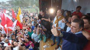 En cierre de campaña, Juez y Negri afirman que Córdoba Cambia gana la Capital