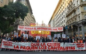 "Para Del Plá, el FIT es «la única alternativa contra el régimen del FMI"""