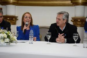 El candidato de CFK insiste en la necesidad de la unidad del peronismo