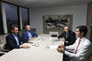 Al ratificar el armado de Alternativa Federal, Schiaretti renovó su mensaje a Lavagna