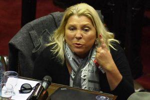 Carrió denunció un «pacto de impunidad» entre Lorenzetti y Alberto Fernández