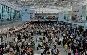 Creció 23% el número de turistas extranjeros que llegaron al país por vía aérea