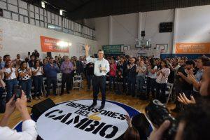 Marcar el contraste con el kirchnerismo, uno de los ejes del mensaje de Macri a los «defensores del cambio»