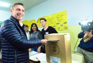 Mestre votó y dijo que esta elección «no es un termómetro de lo nacional»