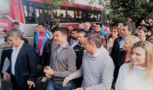 Junto a De Loredo, Mestre cerró la campaña con críticas a Schiaretti y Llaryora