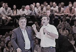 El resultado de las elecciones en CBA, con Negri y Mestre divididos, gravitará en la discusión interna de cara a la Convención