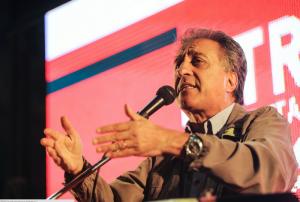 Pitrola encabeza acto del Partido Obrero por el Cordobazo en Luz y Fuerza