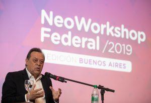 Santos en el NeoWorkshop de Fedecatur