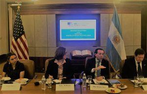 Argentina y EEUU acordaron profundizar acciones para potenciar el comercio