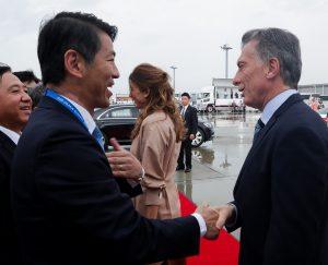 Macri llegó a Japón con su mensaje en defensa del multilateralismo