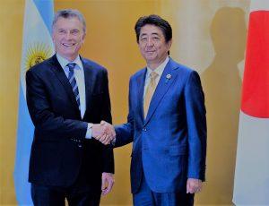 Macri ratificó que Argentina y Japón «son socios estratégicos»