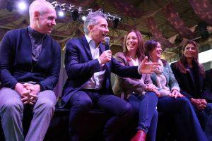 """""""Juntos, estamos cambiando la forma de hacer política en la Argentina"""", afirmó Macri junto a Vidal y Larreta"""