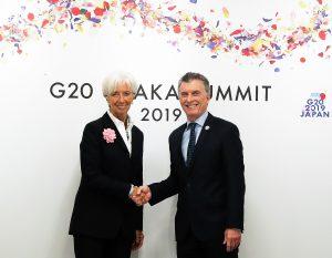 Macri y Lagarde coincidieron en que se comienza a percibir una recuperación de la economía argentina