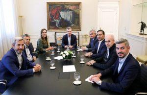 Macri encabezó en Olivos una reunión con los gobernadores de Cambiemos que ahora será «Juntos por el Cambio»