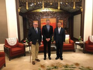 Peña acordó profundizar los acuerdos estratégicos con China