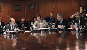 Pichetto pegó el faltazo a la reunión del Consejo de la Magistratura