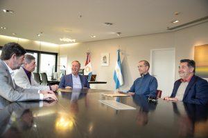Schiaretti recibió a Picat, intendente electo de Jesús María