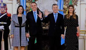 Macri y Bolsonaro con agenda bilateral en la Casa Rosada