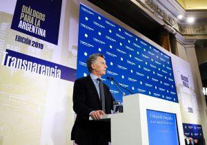 Macri dijo que durante su Gobierno se logró «instituciones más transparentes y solidas»