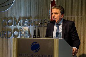 """""""Estamos trabajando para que Argentina vuelva a ser un país desarrollado"""", dijo Dujovne ante empresarios cordobeses"""