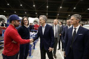 Con la presencia de Macri, Grupo Nordex y FAdeA inauguraron planta de  ensamble de aerogeneradores