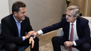 Fernández y Massa cerraron el acuerdo y van con el «Frente de Todos»