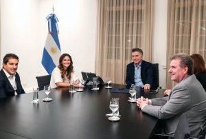 """«Él es pañuelo celeste"""", dijo Granata tras la reunión que mantuvo con Macri"""