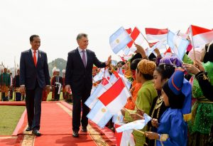 Macri destacó las «coincidencias» que permiten profundizar los «lazos» entre Argentina e Indonesia