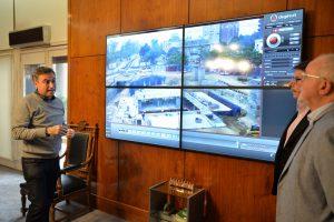 Mestre presentó el nuevo Centro de Control y Monitoreo del Tránsito