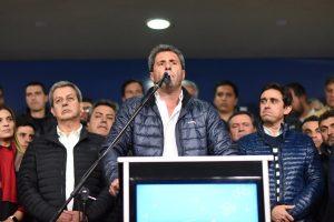 Tras la victoria, Uñac quiere trasladar el «modelo San Juan de unidad» a nivel nacional