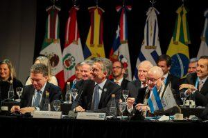 Junto a sus pares del Mercosur, Macri defendió el acuerdo con la UE y reiteró sus críticas contra Maduro