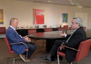 Tras la reunión con Schiaretti, Fernández destacó las coincidencias sobre «lo que hay que hacer» en la Argentina