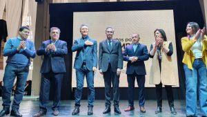 Al presentar la fórmula en Córdoba, Macri aseguró: «Hoy estamos saliendo; vamos hacia el crecimiento»